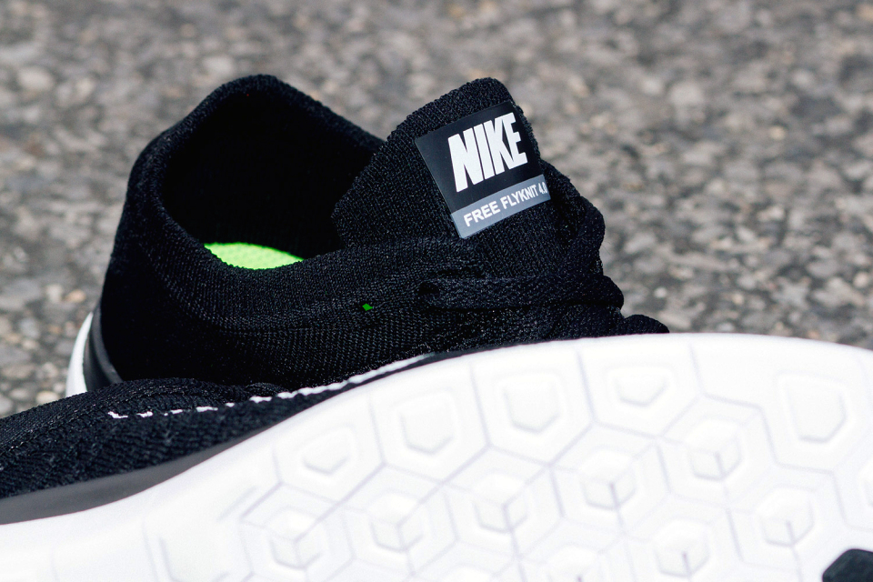 Nike Free 4.0 Flyknit Black 2