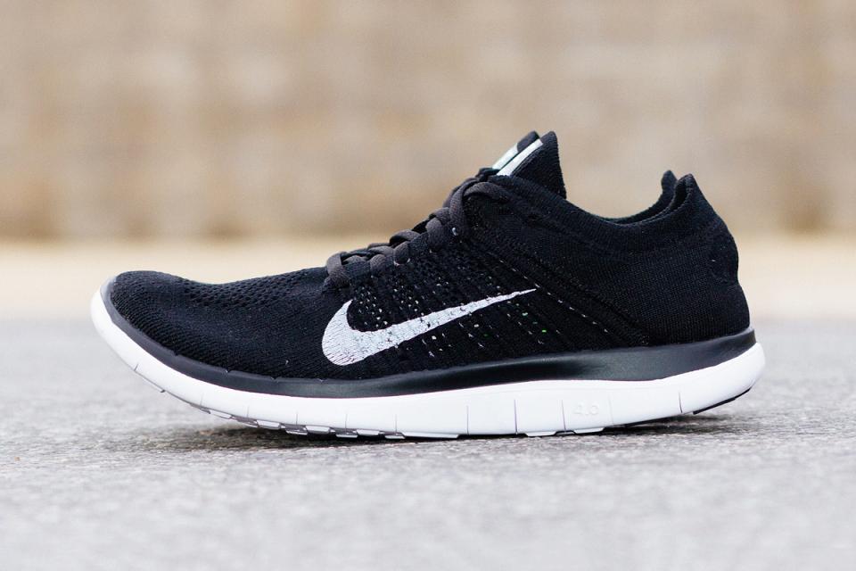Nike Free 4.0 Flyknit Black 3