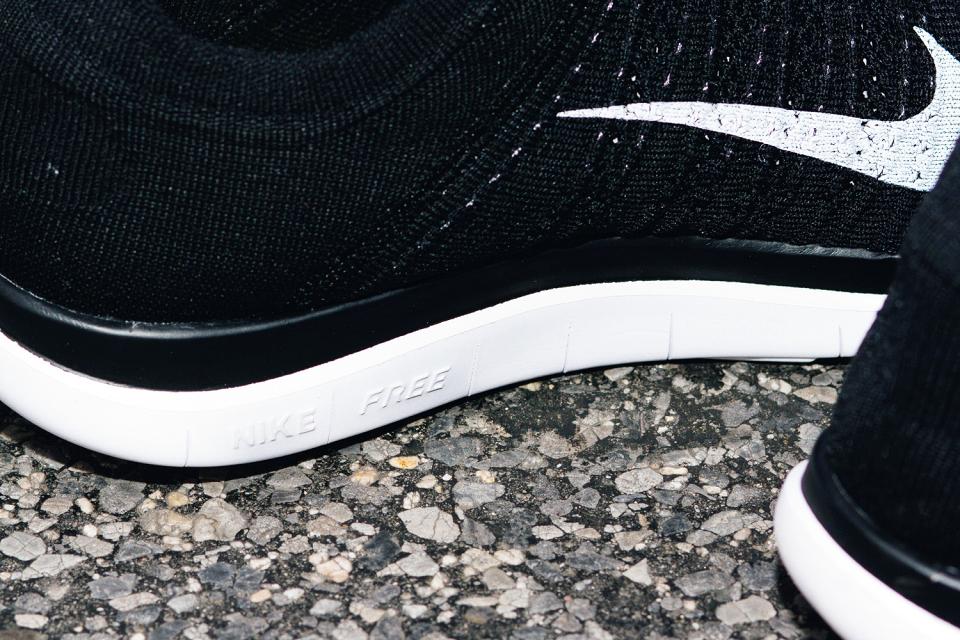 Nike Free 4.0 Flyknit Black 4