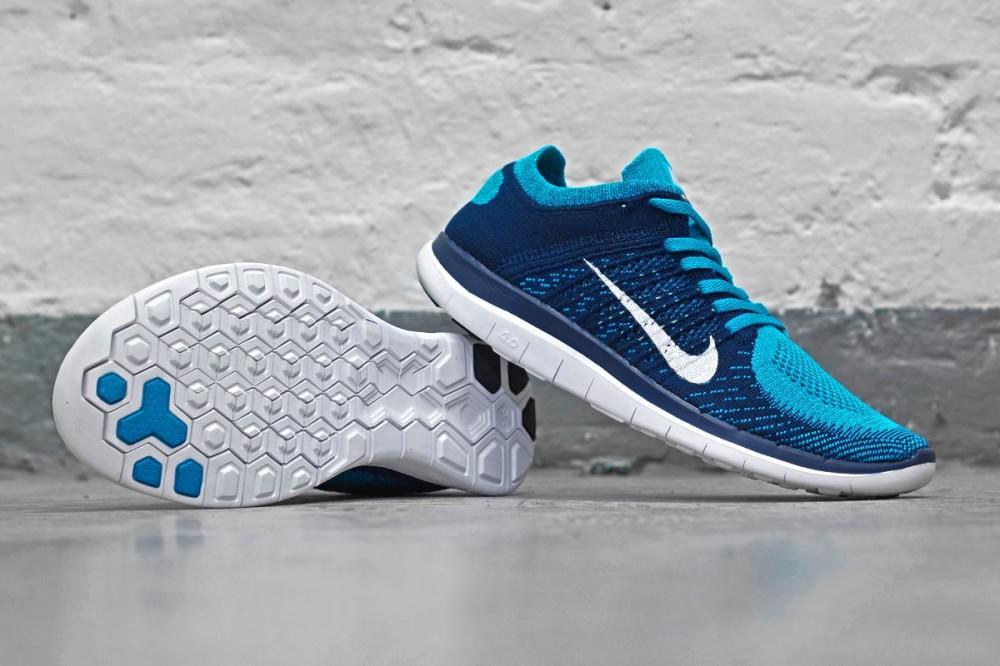 Nike Free Flyknit 4.0 Brace Blue 2 1000x666