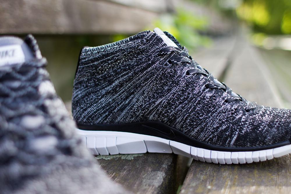 Nike Free Flyknit Chukka Black Grey White 4 1000x666
