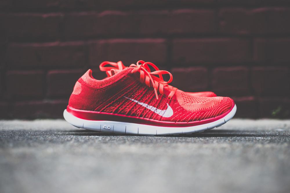 Nike Free Flyknit4.0 Bright Crimson 1 1000x667