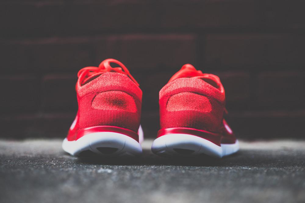 Nike Free Flyknit4.0 Bright Crimson 4 1000x667