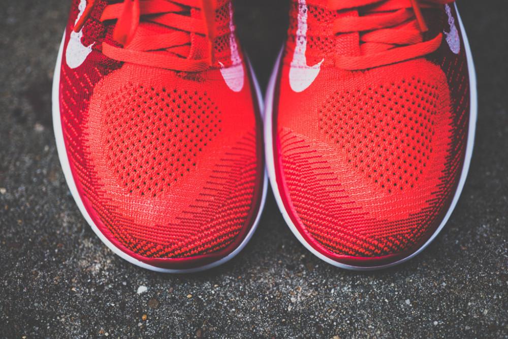 Nike Free Flyknit4.0 Bright Crimson 5 1000x667