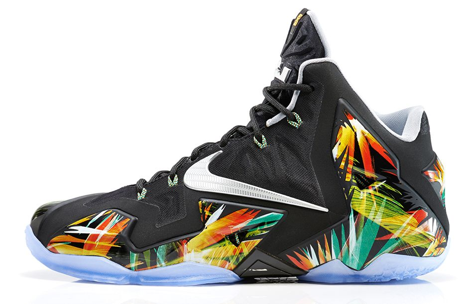 Nike Lebron 11 Everglades 1