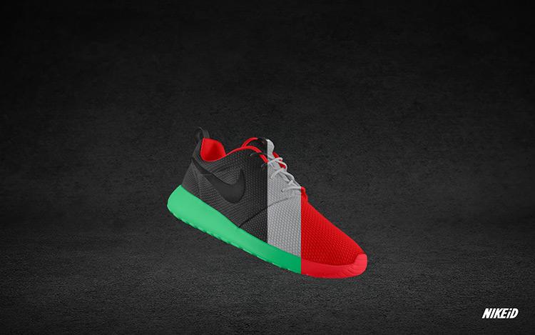 Nike Roshe Run iD Yeezy II 1
