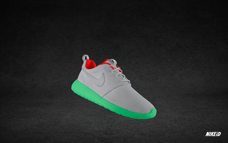 Nike Roshe Run iD Yeezy II 3