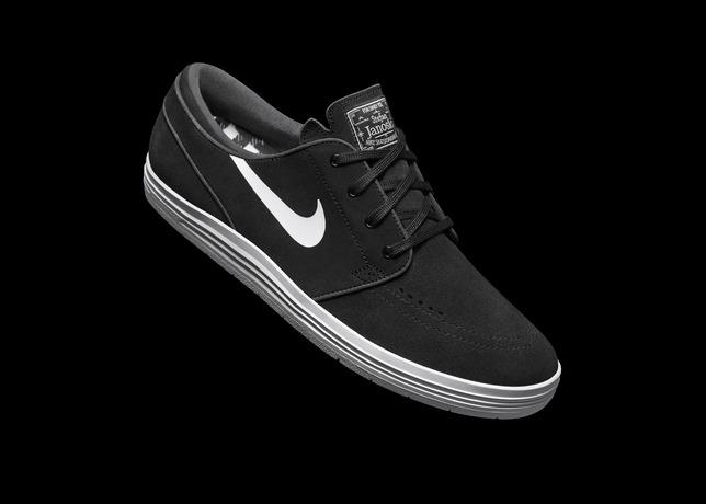 Nike SB Lunar Stefan Janoski Black White 1