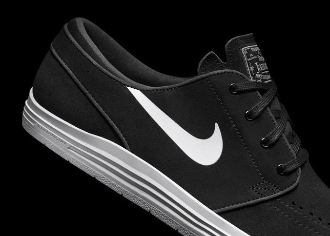 Nike SB Lunar Stefan Janoski Black White 2