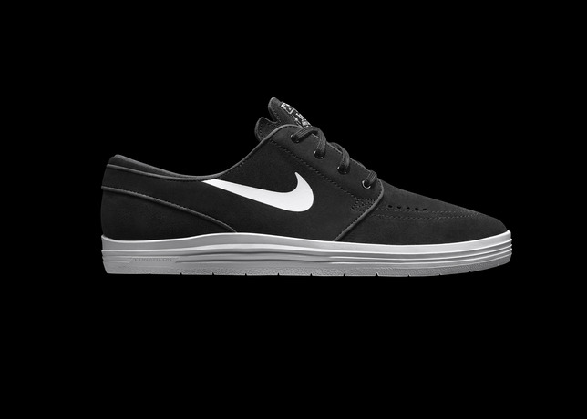 Nike SB Lunar Stefan Janoski Black White 4