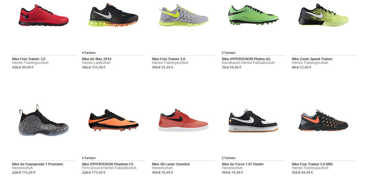 Nike Sale + 20 Gutschein 1