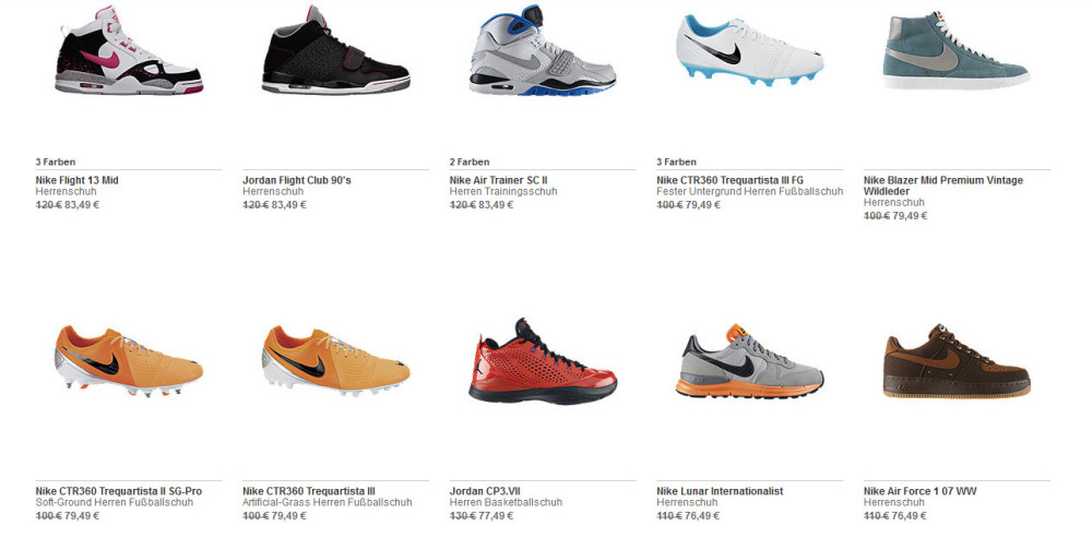 Nike Sale + 20 Gutschein 4 1000x493