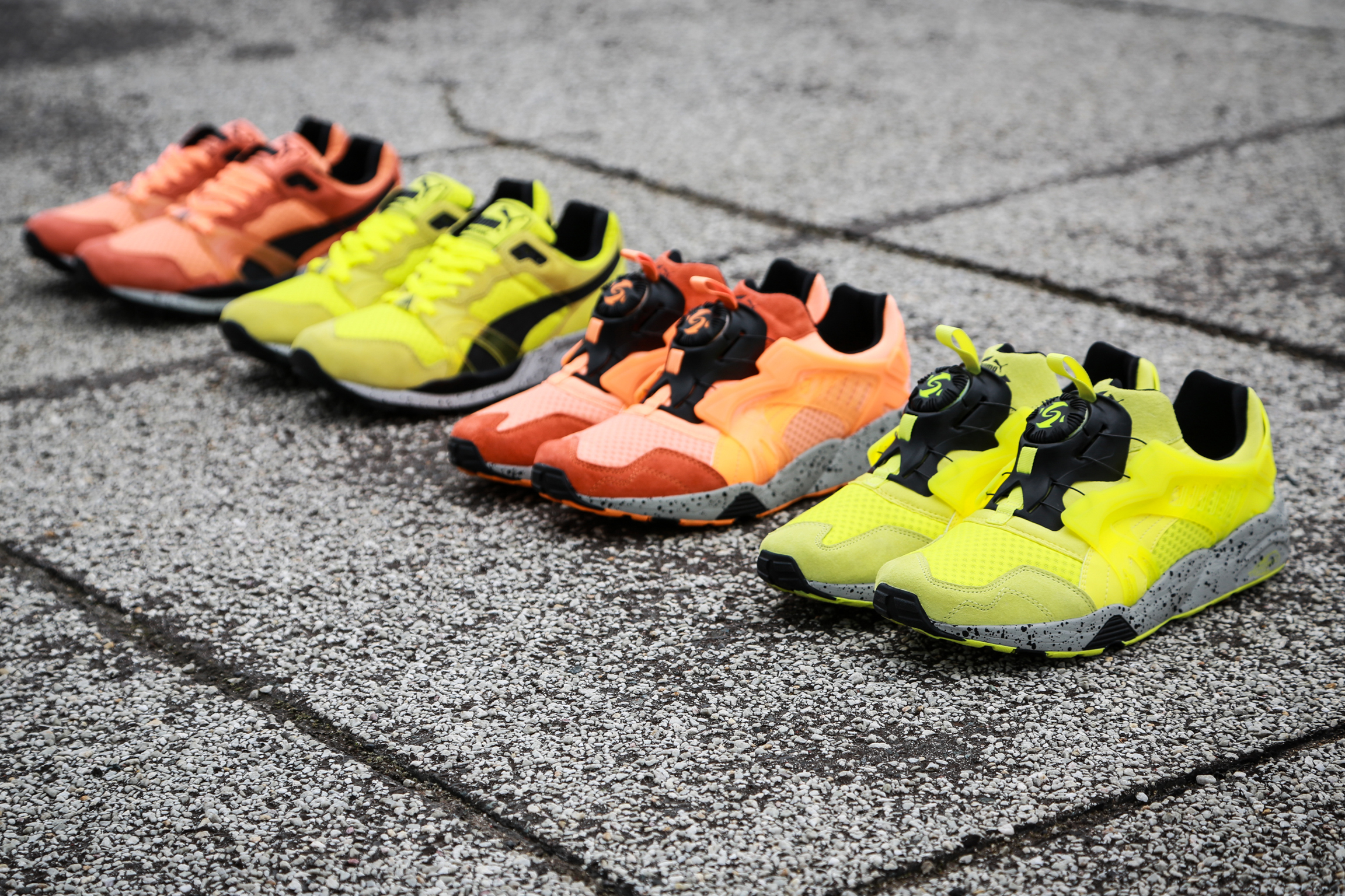 PUMA Trinomic Mesh Evolution Pack II 19