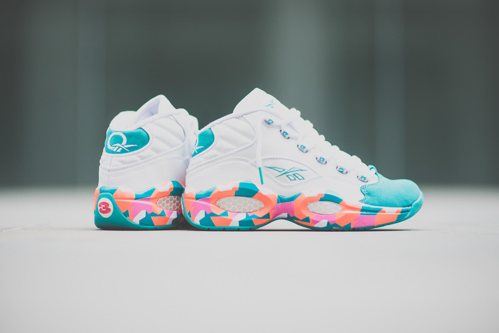 Reebok Question Mid White Noise 1