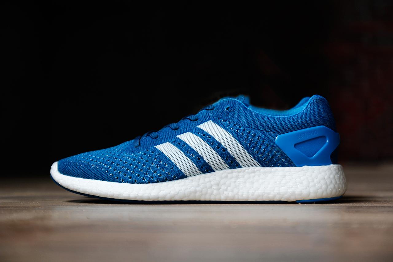 adidas Primeknit Pureboost Blue White 1