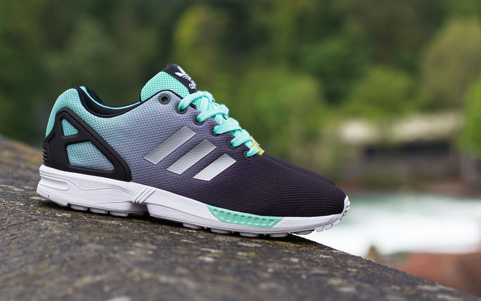 adidas ZX Flux Gradient Mint Green 1