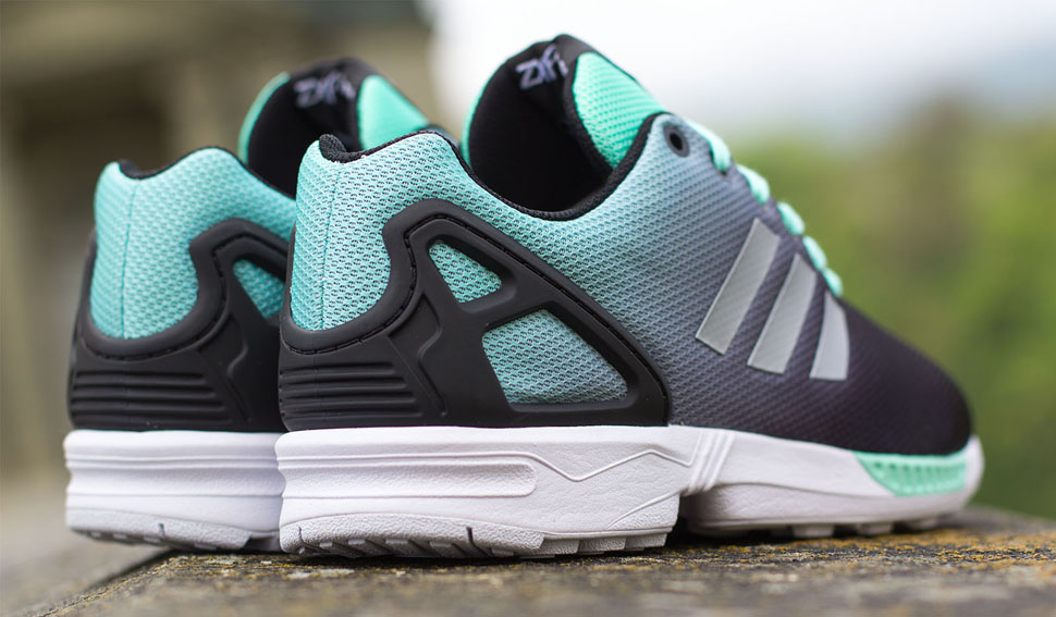 adidas ZX Flux Gradient Mint Green 2