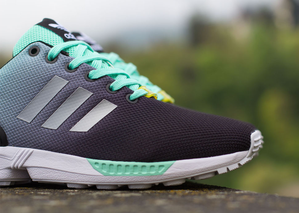 adidas ZX Flux Gradient Mint Green 3