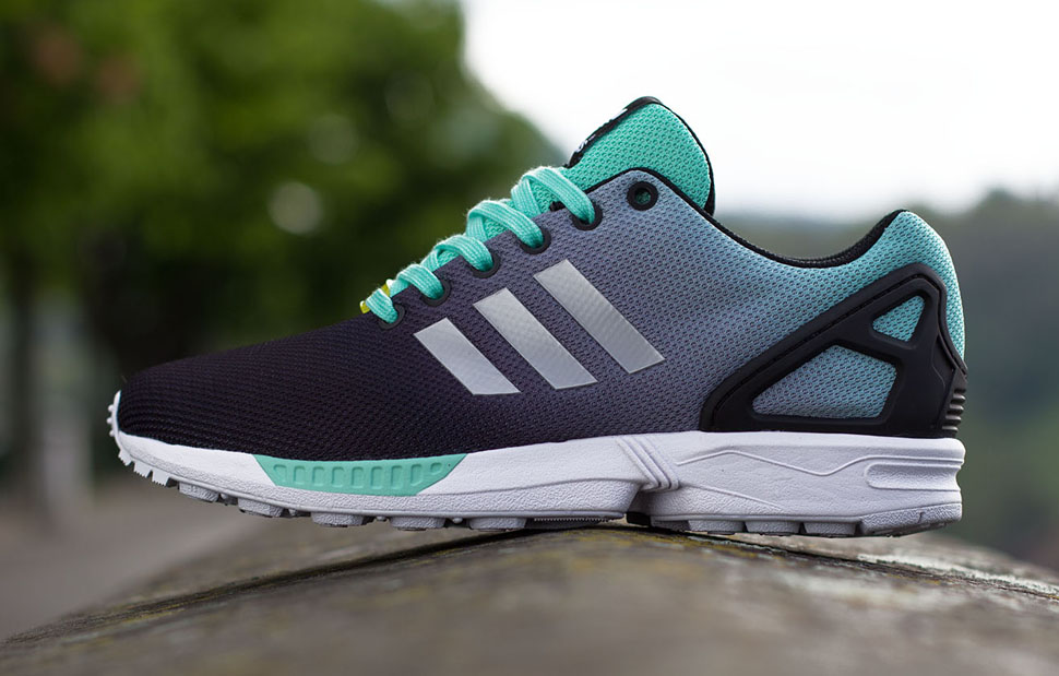 adidas ZX Flux Gradient Mint Green 4