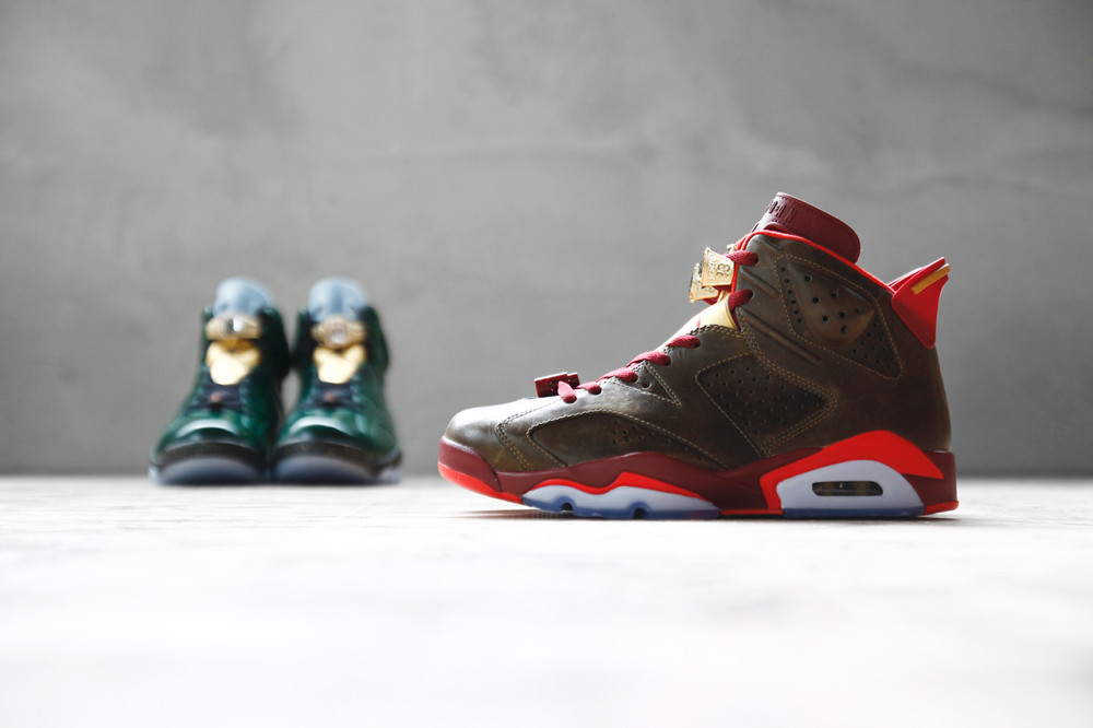 Air Jordan 6 Retro Championship Cigar and Champagne Pack 1 1000x666