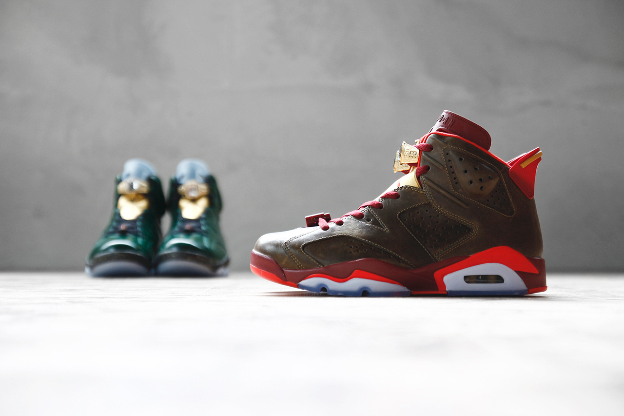 Air Jordan 6 Retro Championship Cigar and Champagne Pack 1