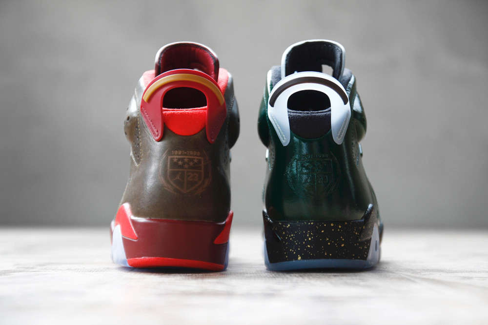 Air Jordan 6 Retro Championship Cigar and Champagne Pack 5 1000x666