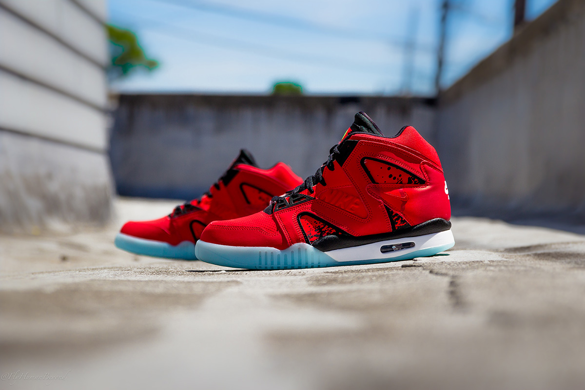 Nike Air Tech Challenge Hybrid Chilling Red 1