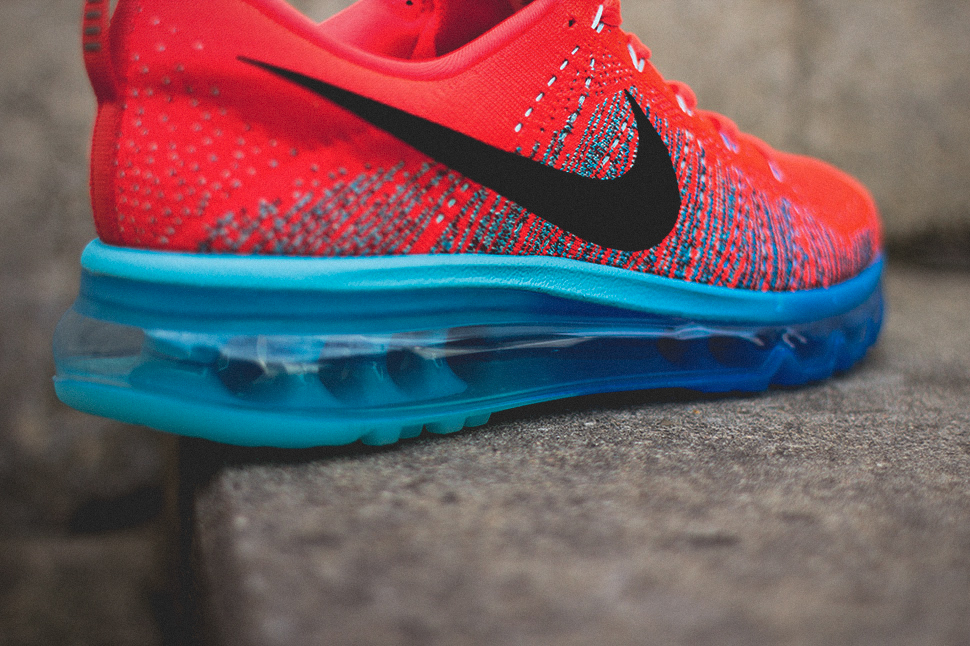 Nike Flyknit Air Max Bright Crimson 5