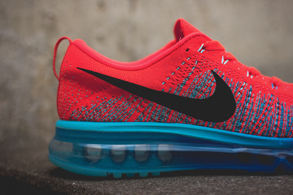 Nike Flyknit Air Max Bright Crimson 6