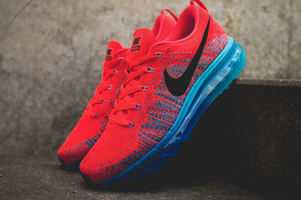Nike Flyknit Air Max Bright Crimson 8