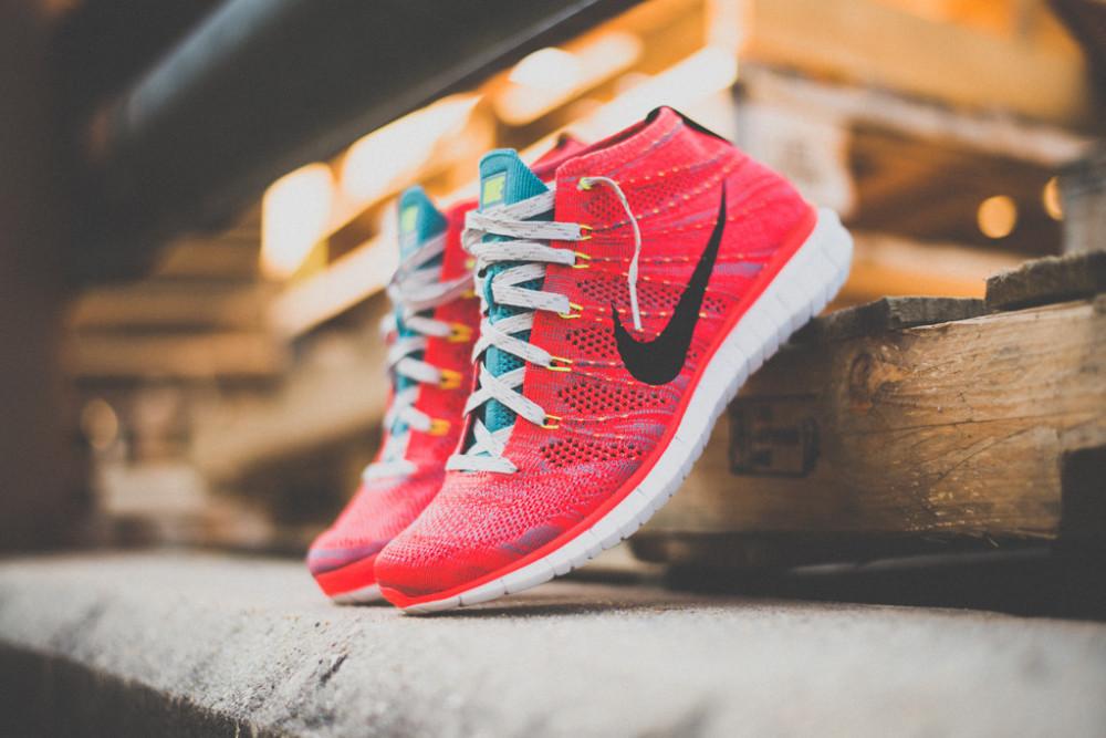 Nike Free Flyknit Chukka Bright Crimson 2 1000x667