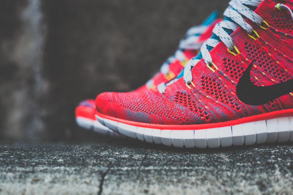 Nike Free Flyknit Chukka Bright Crimson 3 1000x667