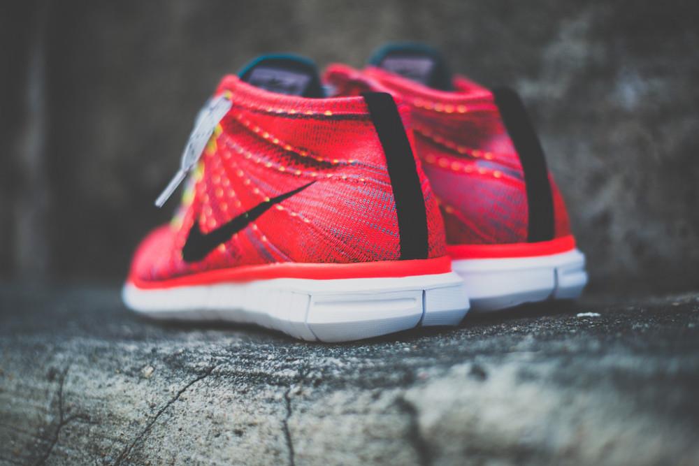 Nike Free Flyknit Chukka Bright Crimson 7 1000x667