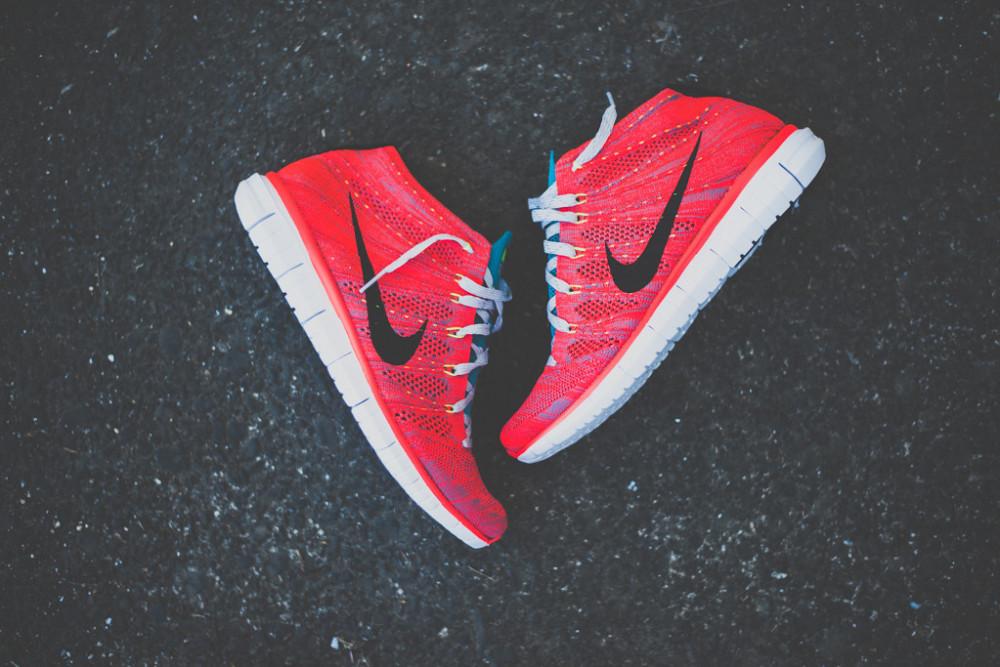 Nike Free Flyknit Chukka Bright Crimson 8 1000x667