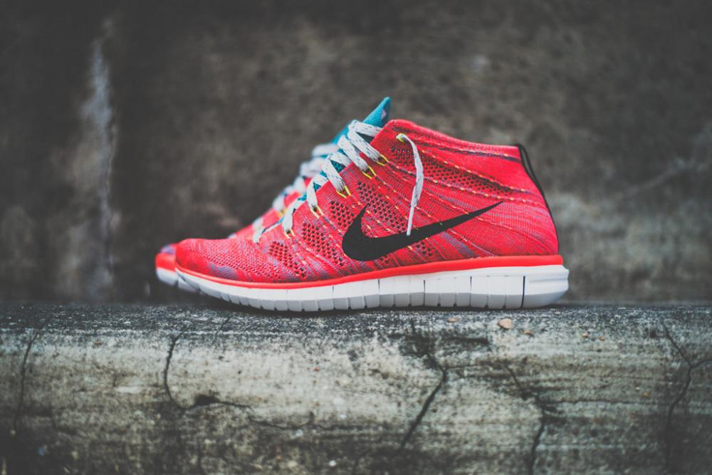 Nike Free Flyknit Chukka Bright Crimson 9 1000x667