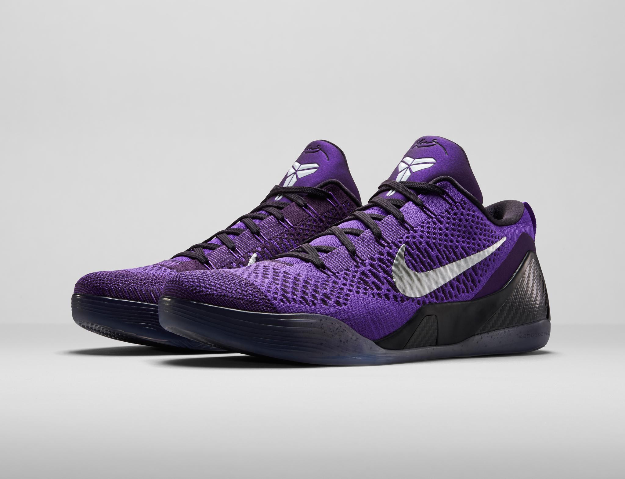 Nike Kobe 9 Elite Low Hyper Grape 1