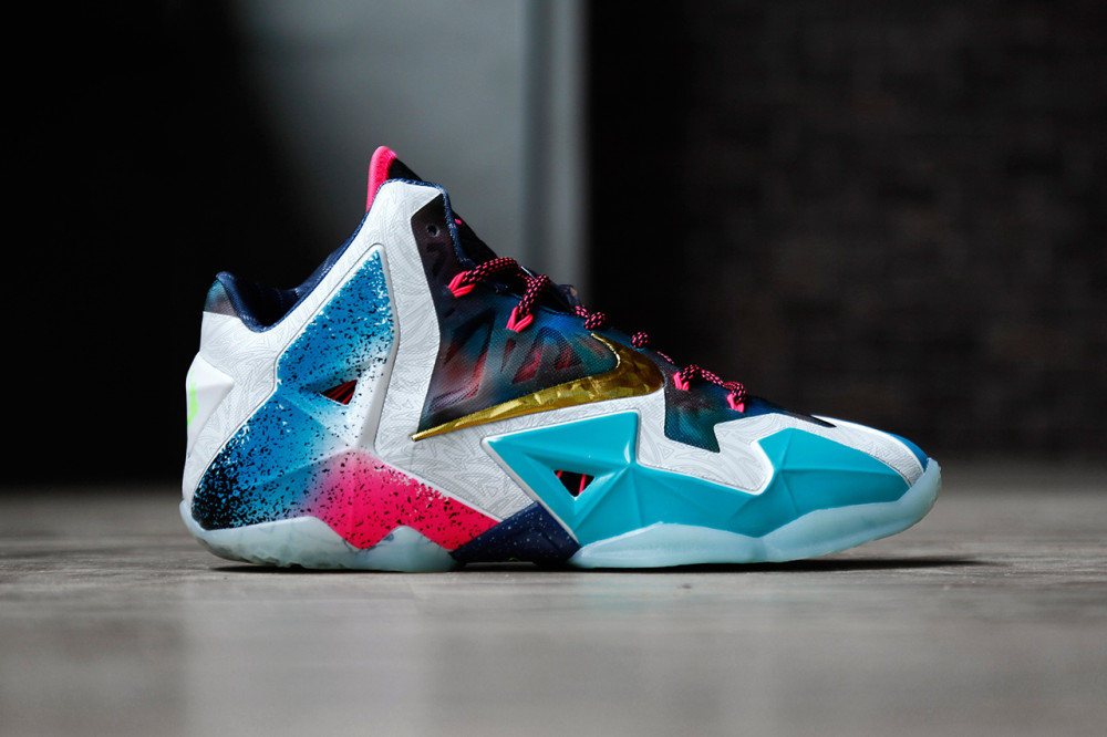 Nike LeBron 11 What the LeBron 1 1000x666