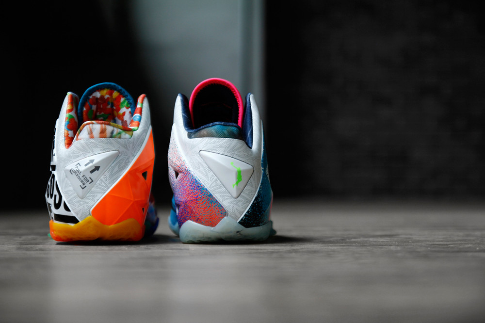 Nike LeBron 11 What the LeBron 10 1000x666