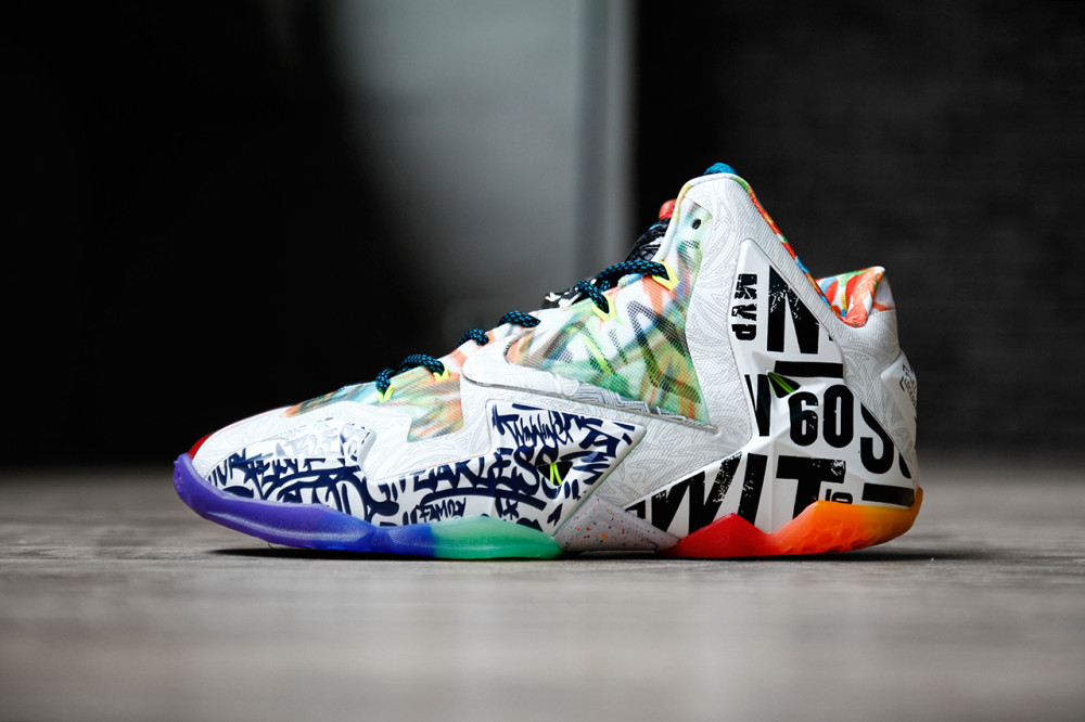 Nike LeBron 11 What the LeBron 2 1000x666