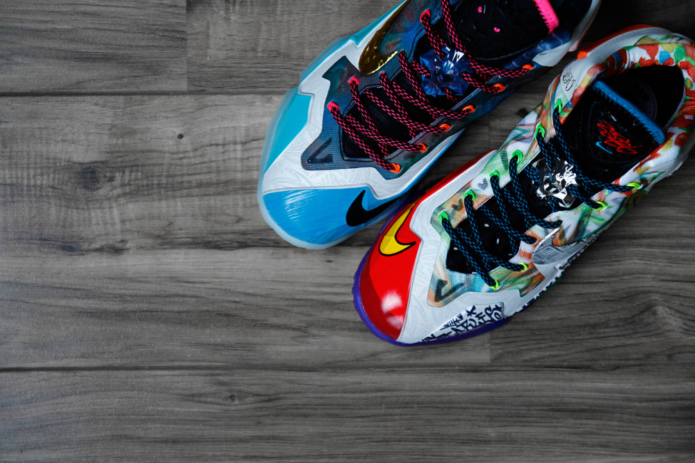 Nike LeBron 11 What the LeBron 3 1000x666