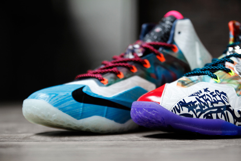 Nike LeBron 11 What the LeBron 4 1000x666