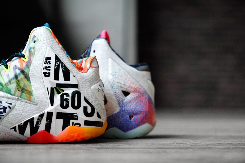 Nike LeBron 11 What the LeBron 8 1000x666