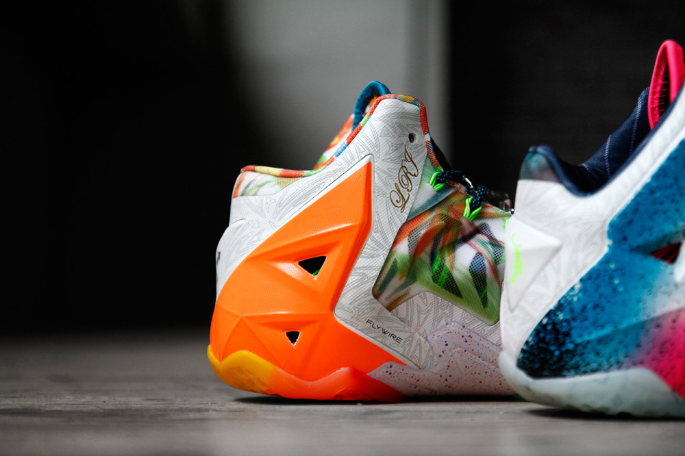 Nike LeBron 11 What the LeBron 9 1000x666