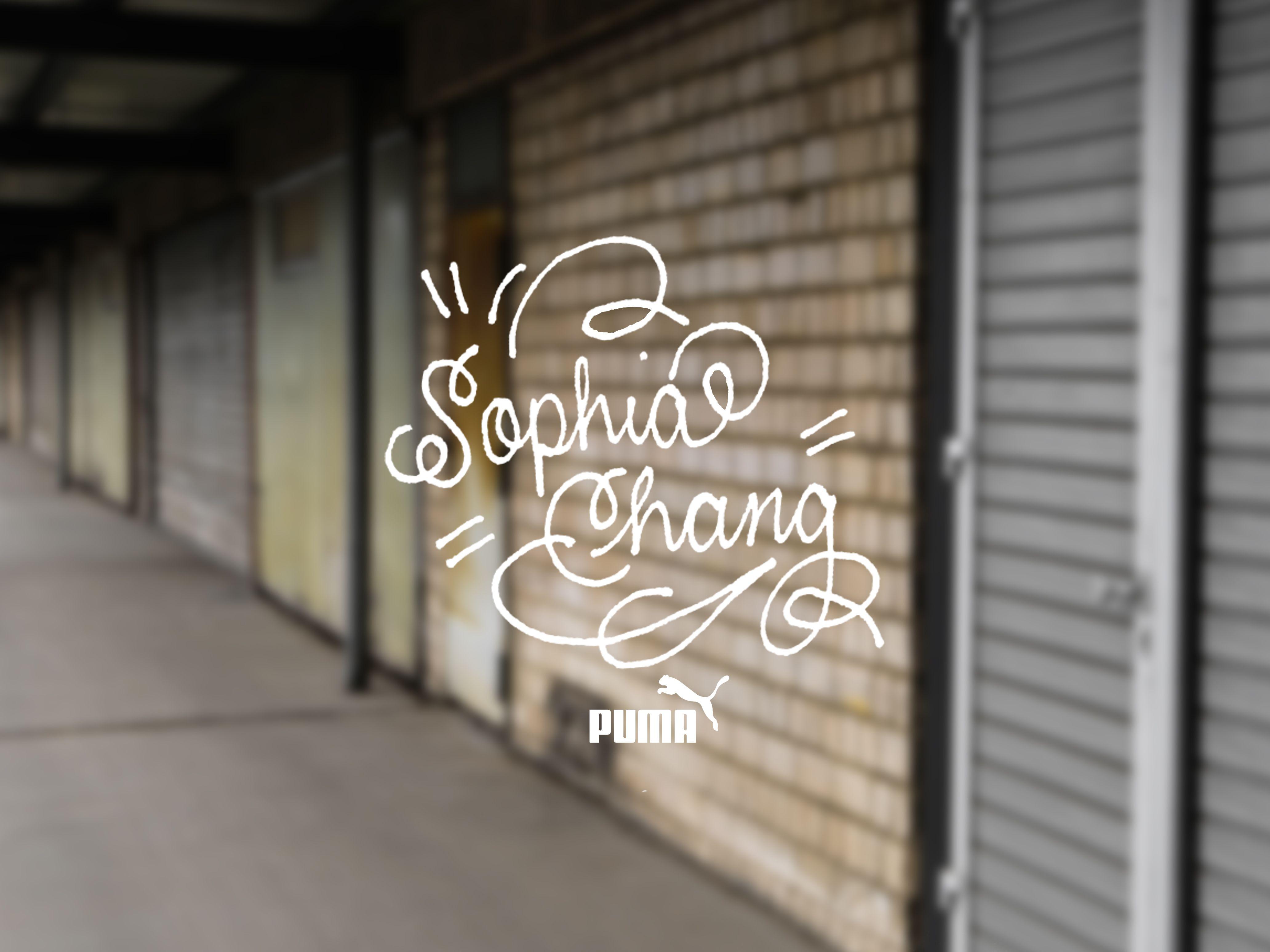PUMA x Sophia Chang 1