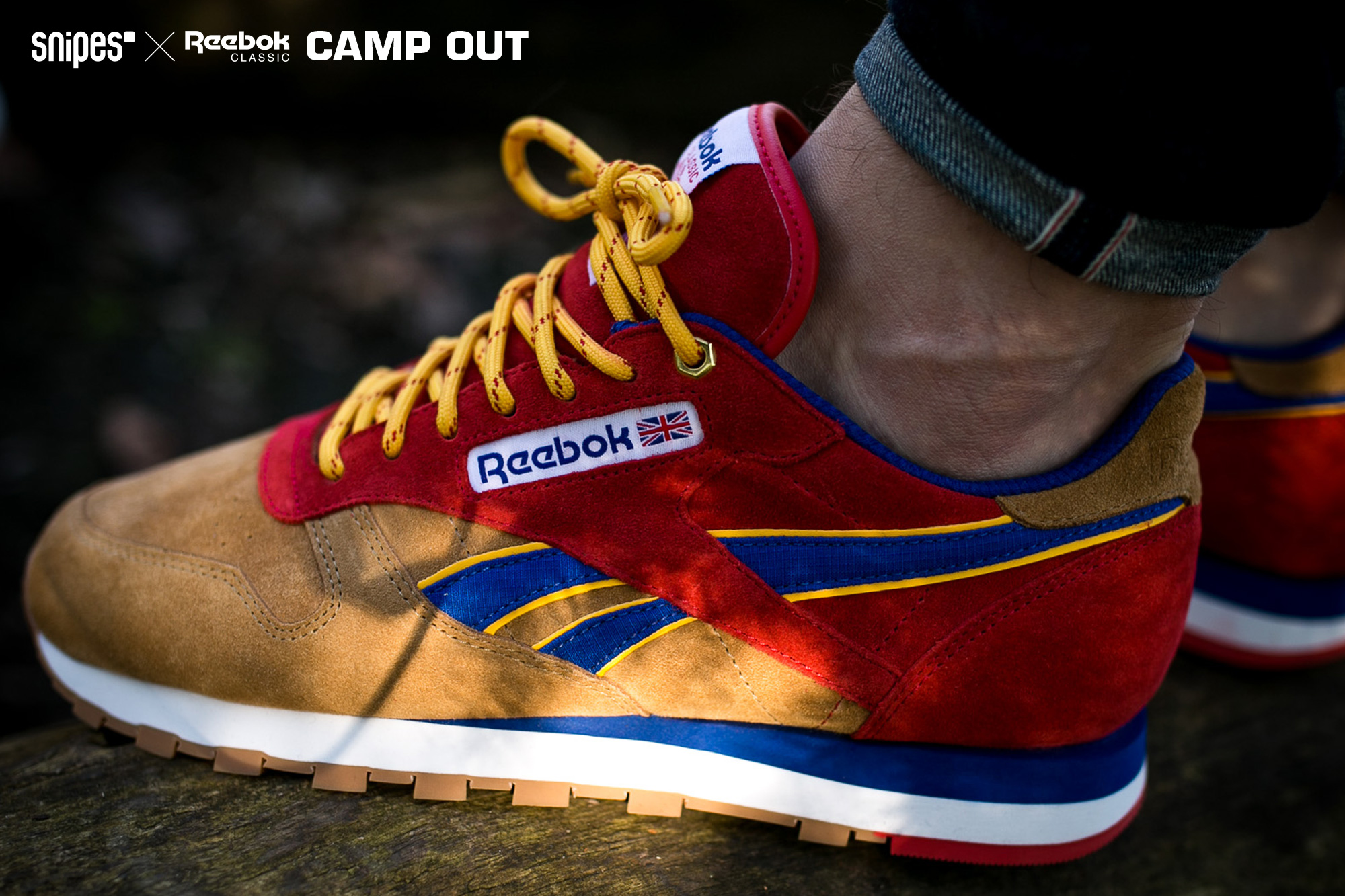 SNIPES x Reebok Camp Out 2