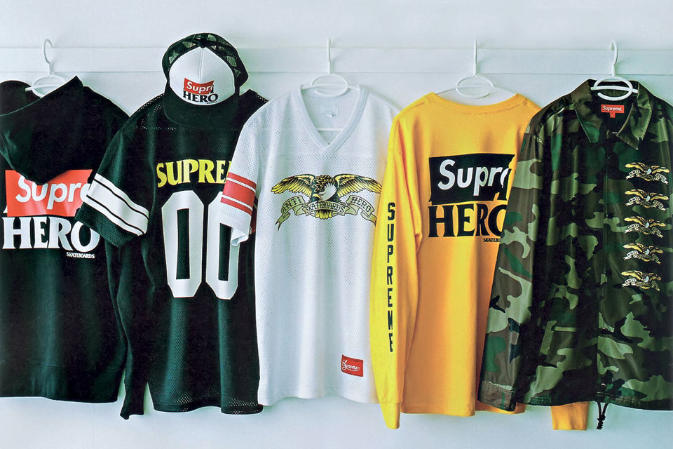 Supreme x Anti Hero Skateboards Capsule Collection Preview