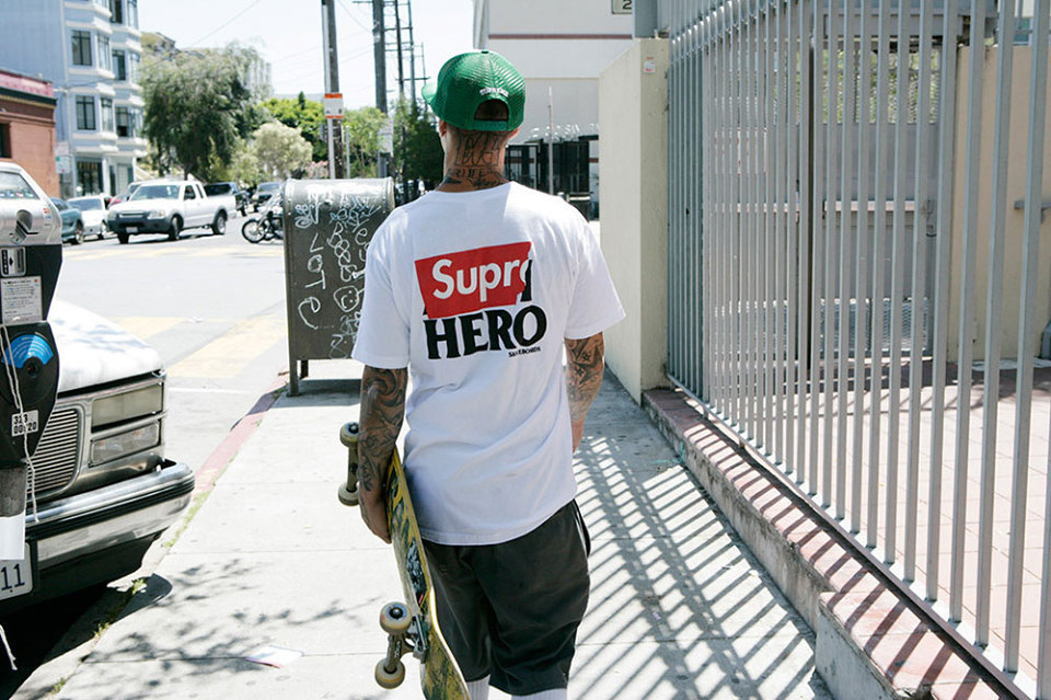 Supreme x Anti Hero Summer 2014 Capsule Collection 1