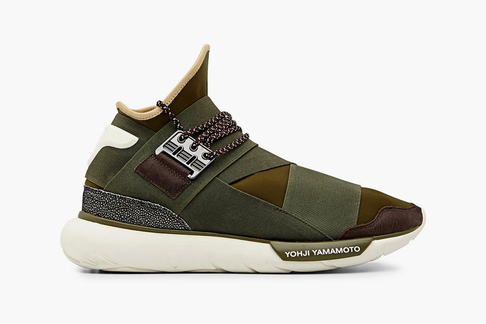 adidas Y 3 Qasa High Khaki 1