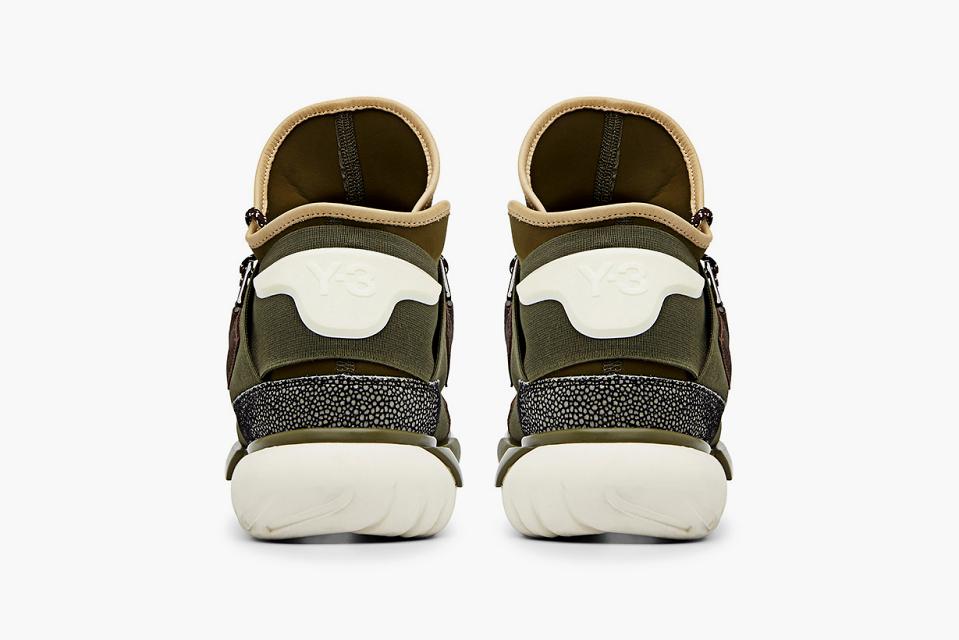 adidas Y 3 Qasa High Khaki 4