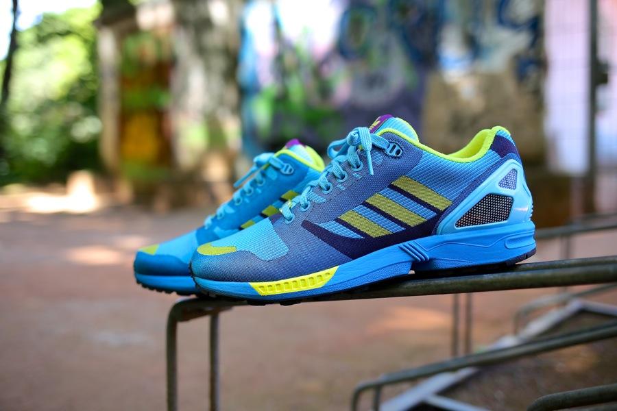 adidas zx flux aqua 8
